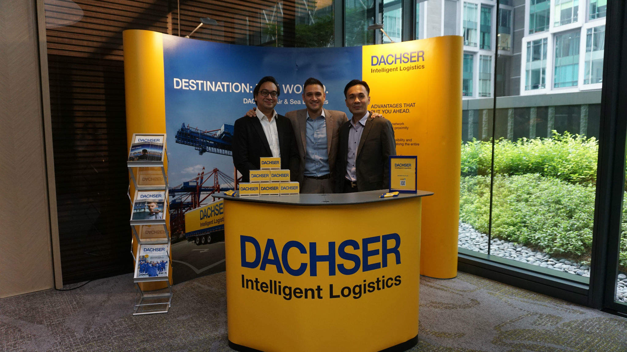 DACHSER, a reliable partner for logistics solutions.