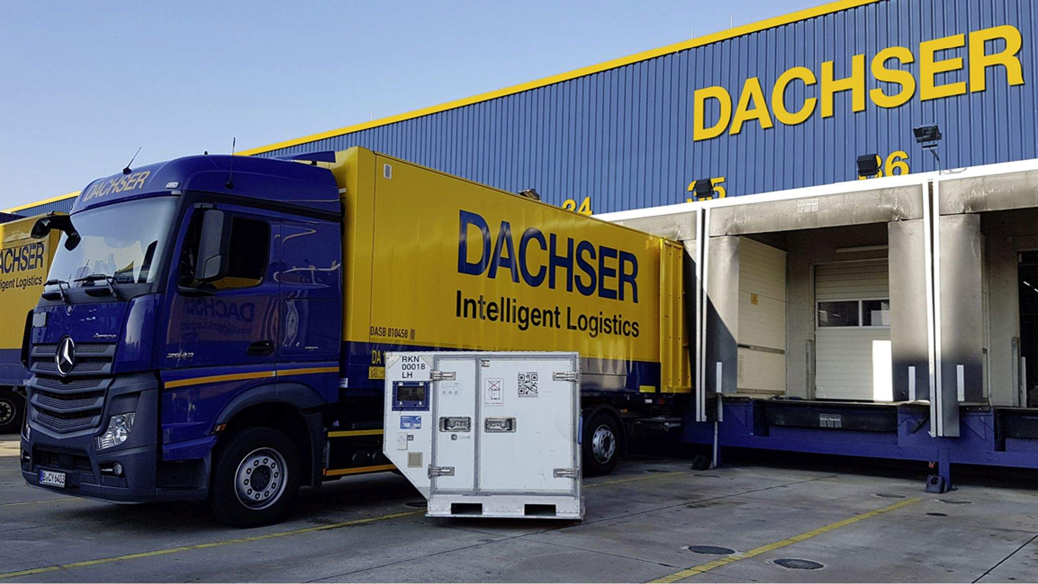 DACHSER Air & Sea Logistics certified for pharmaceutical shipments on three continents