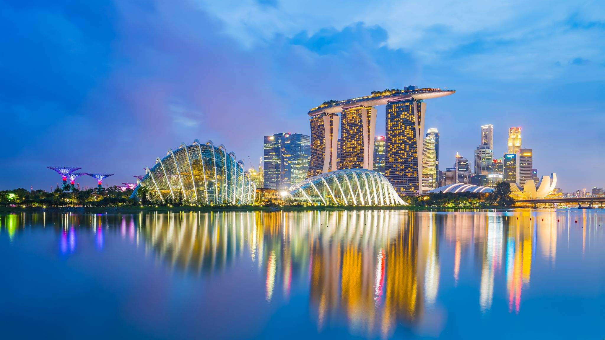 Impressive in any direction: Singapore