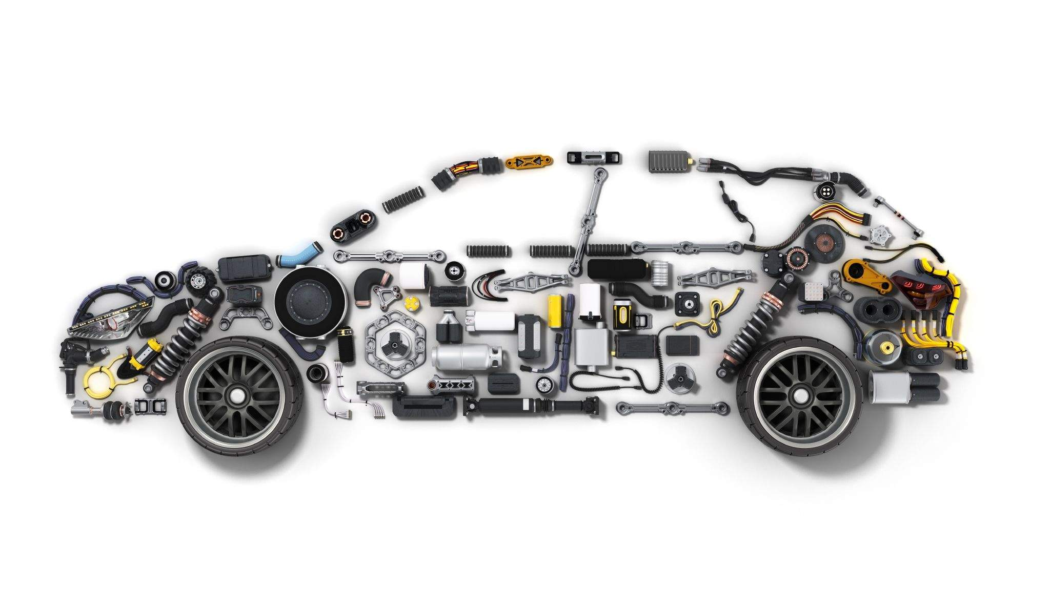 A completely built car comprises of numerous parts, printed circuit boards (PCBs) are among some of them.